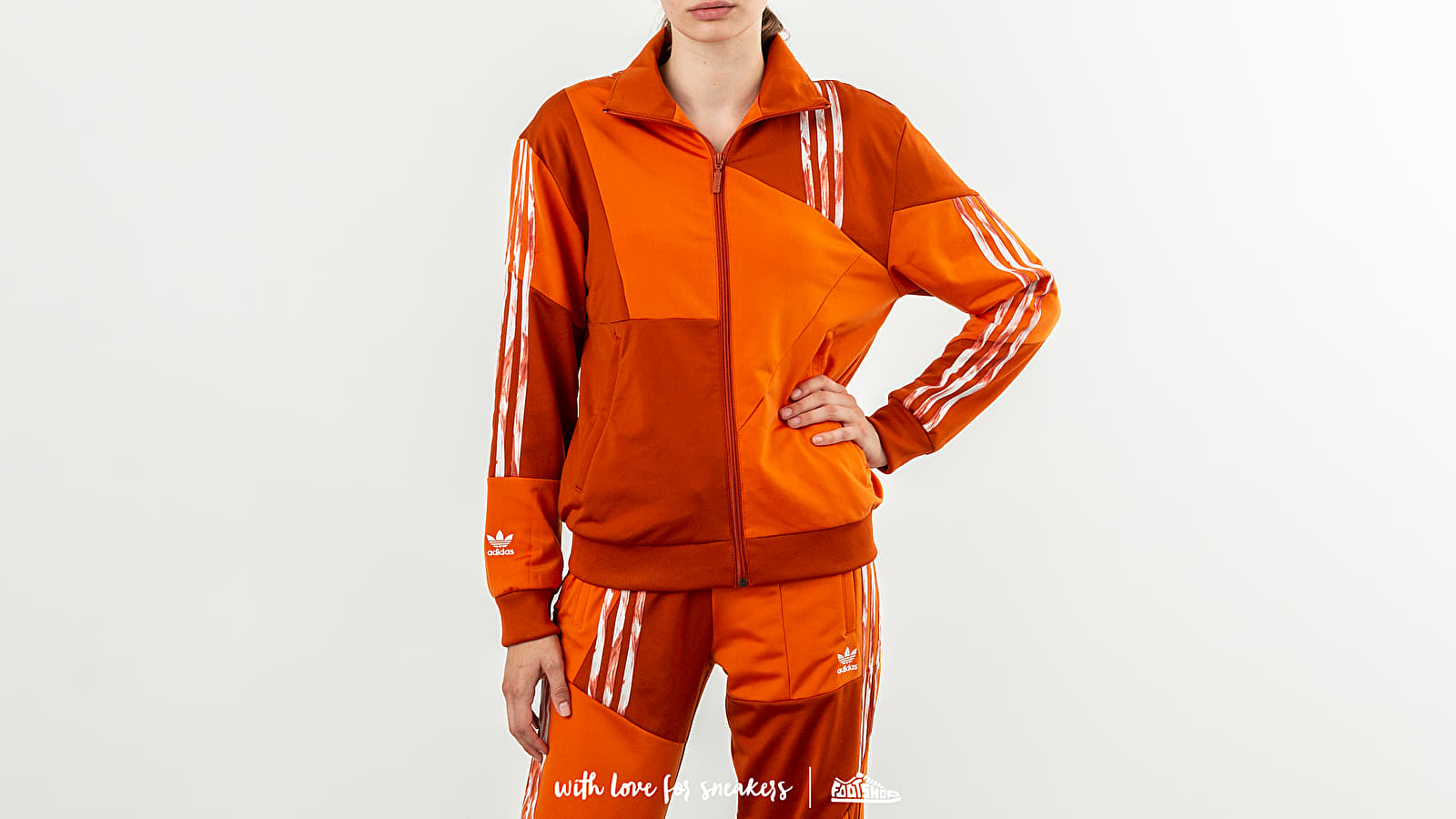 Felpe e maglioni adidas x Daniëlle Cathari Football Track Top Fox Red