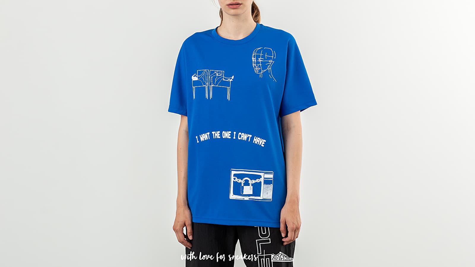 Reebok x Pleasures CL V Unisex Tee 2 Vital Blue za skvelú cenu 46 € kúpite na Footshop.sk