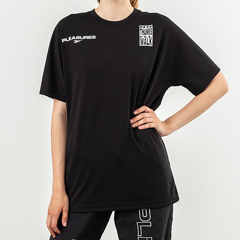 Reebok x Pleasures CL V Unisex Tee Black