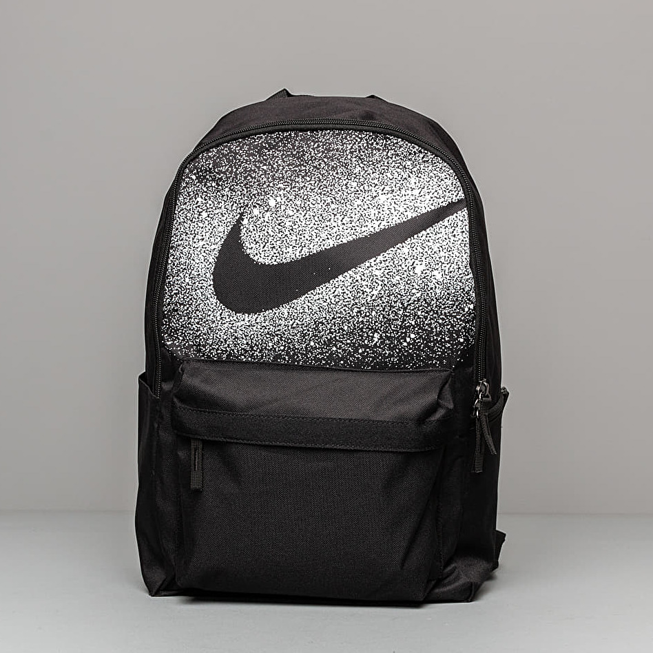 Nike Heritage Rebel Backpack Black/ Black/ White 25 litrov