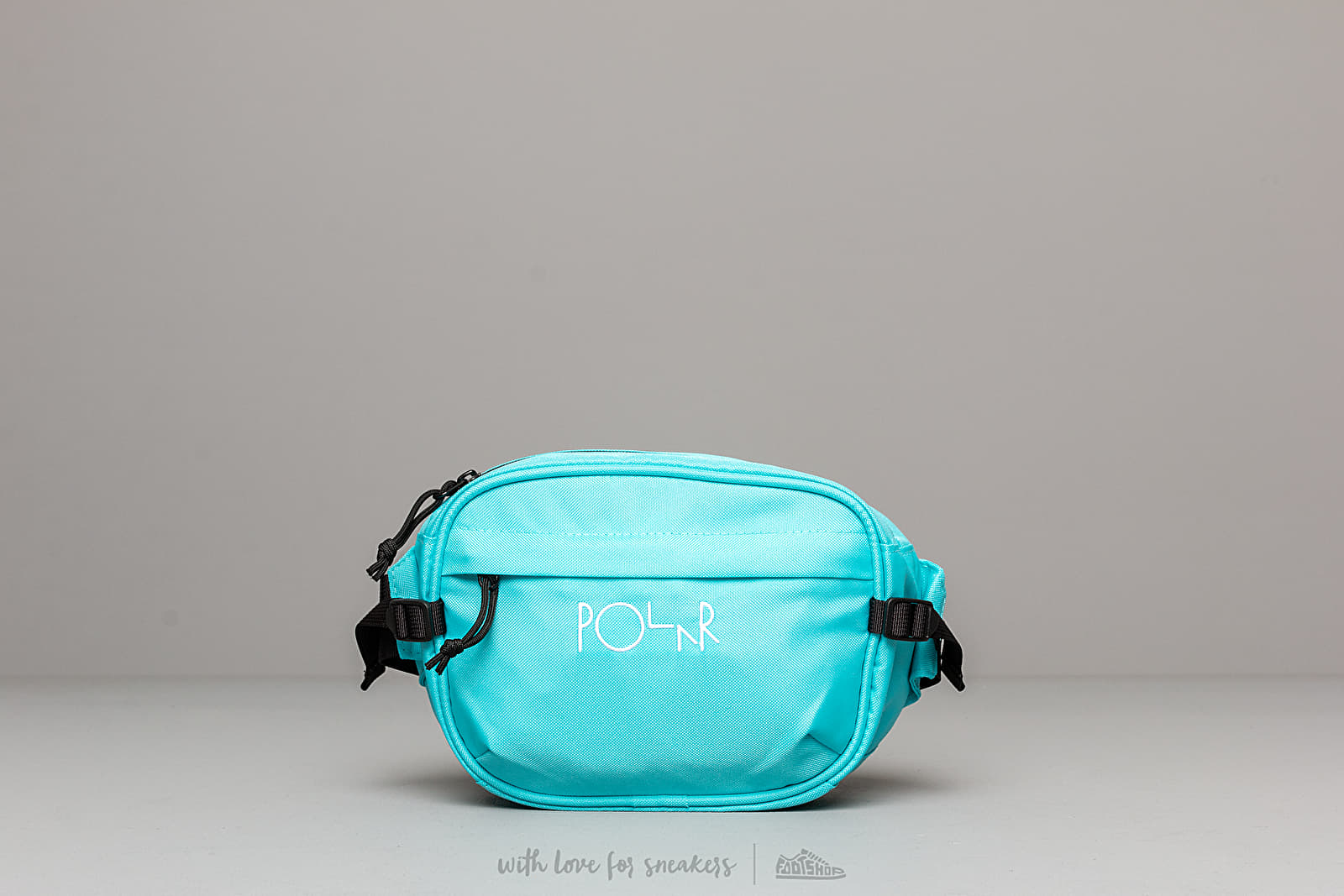Ledvinky Polar Skate Co. Cordura Hip Bag Aqua