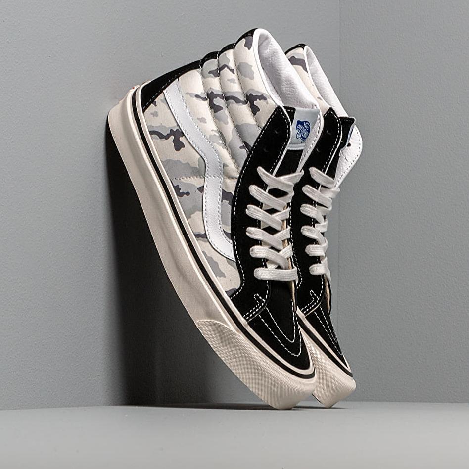 Vans Sk8-Hi 38 Dx (Anaheim Factory) Black/ White Camo EUR 46