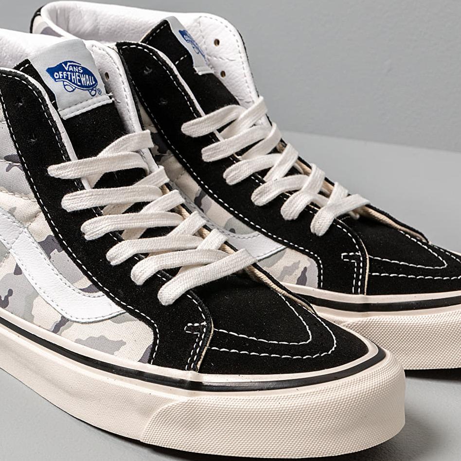 Vans Sk8 Hi 38 Dx (Anaheim Factory) Black White Camo