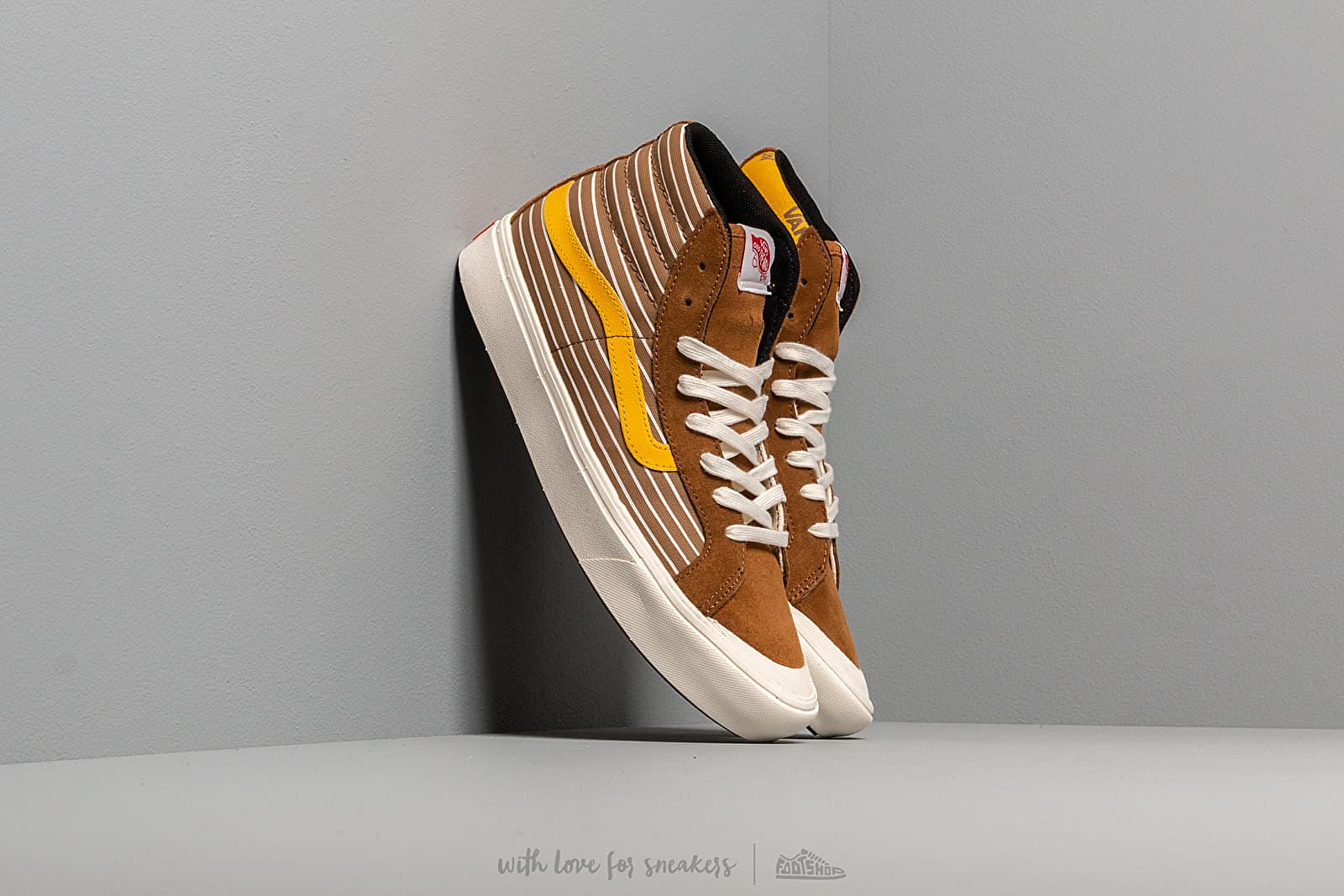 Pánské tenisky a boty Vans Comfycush Style 1 (Suede/ Canvas) Brown