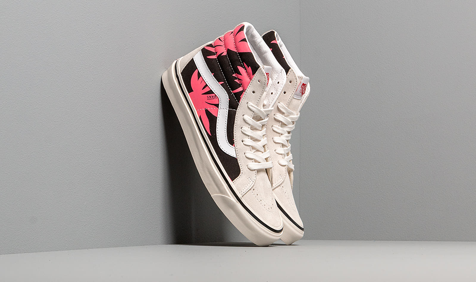 Vans Sk8-Hi 38 Dx (Anaheim Factory) Beige/ Black/ Red Leaves EUR 44