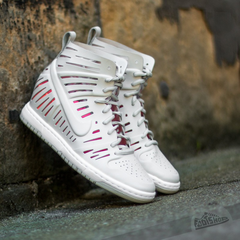 W Nike Dunk Sky HI 2.0 Joli QS Light Bone  95d9d9d74