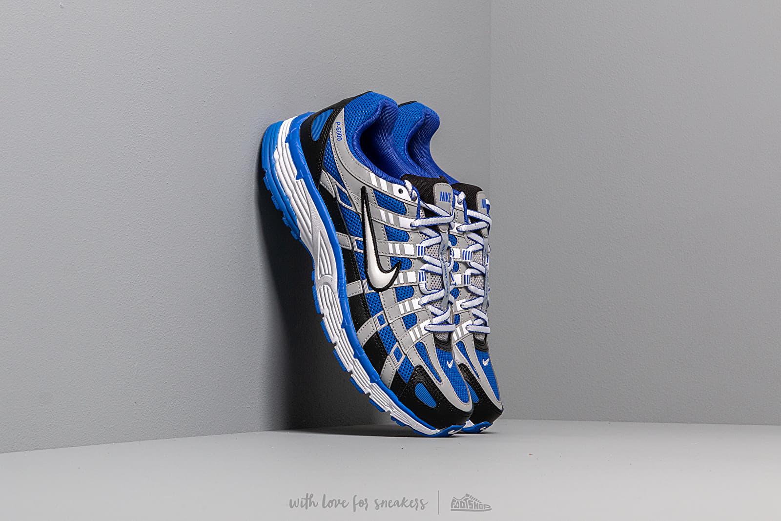 Pánské tenisky a boty Nike P-6000 Racer Blue/ White-Black-Flight Silver