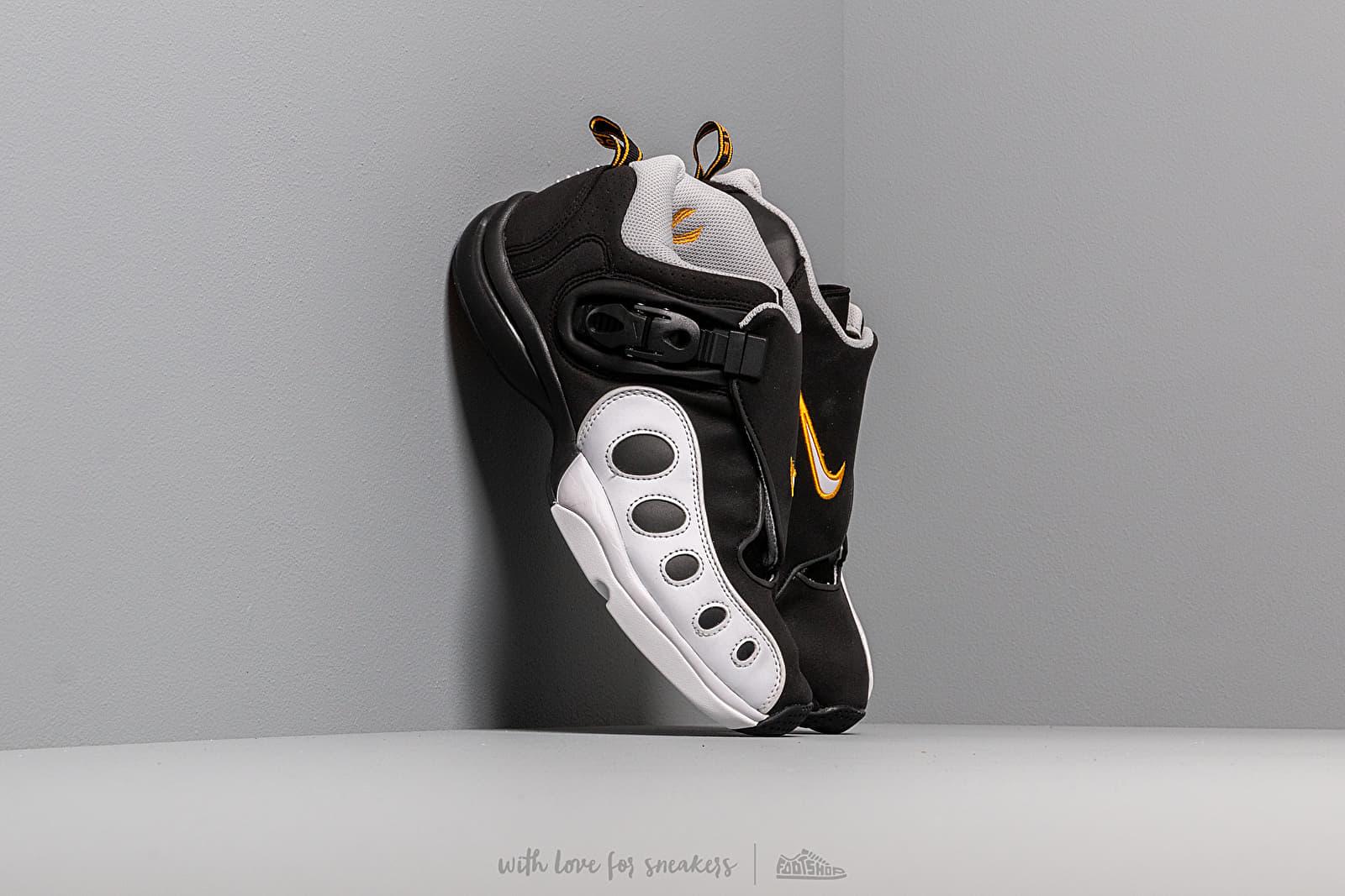 Men's shoes Nike Zoom Gp Black/ White-Canyon Gold-Metalic Platinum