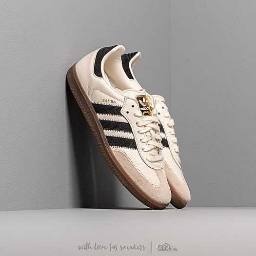 adidas Samba OG Ft Off White/ Carbon/ Linen | Footshop