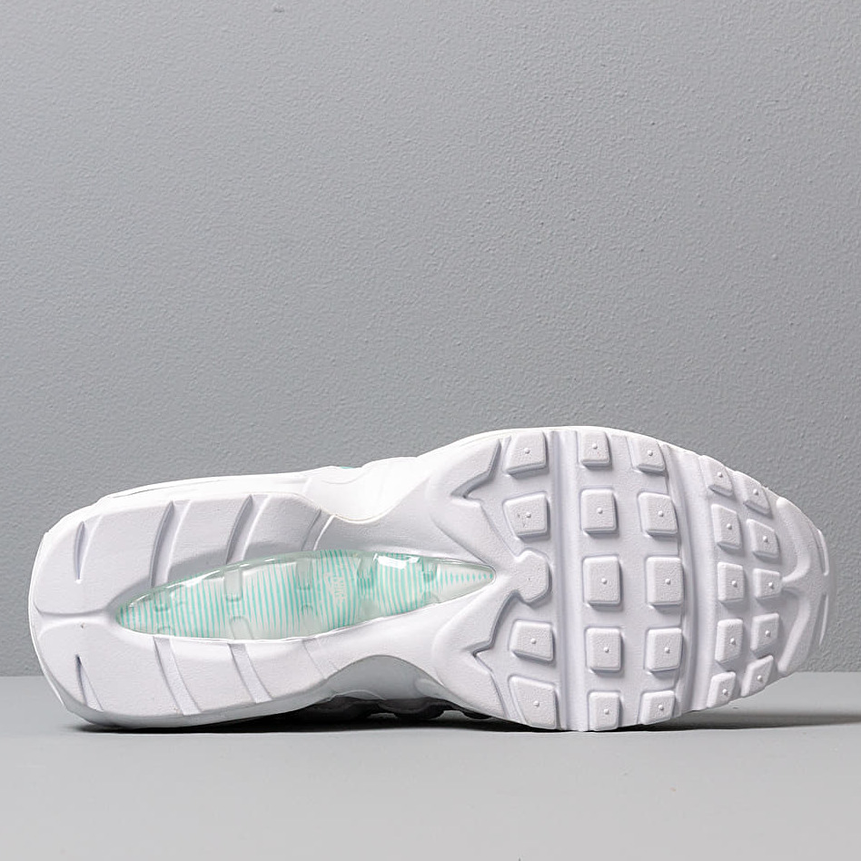 Nike Wmns Air Max 95 White White Light Aqua footshop.eu