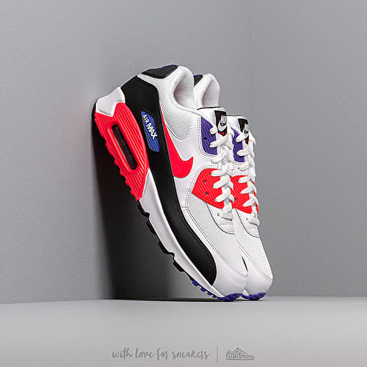 hot sale online eaaa5 088e4 Nike Air Max 90 Essential White/ Red Orbit-Psychic Purple ...