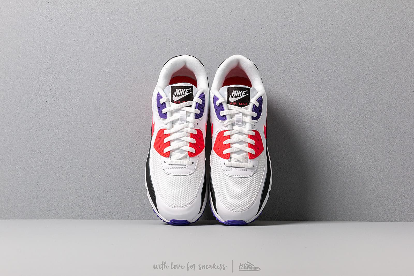 Tenis Nike Air Max '90 Essential Shoe White Red orbit