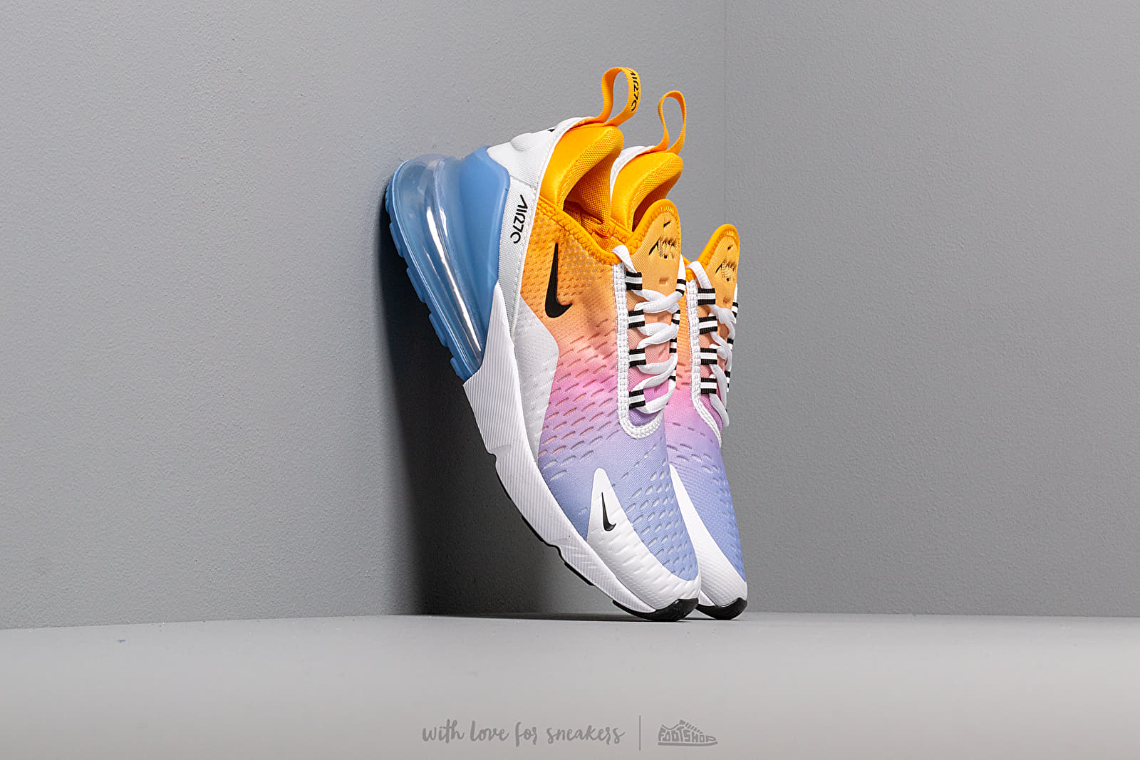 huge discount ever popular pre order Nike W Air Max 270 University Gold/ Black-University Blue ...