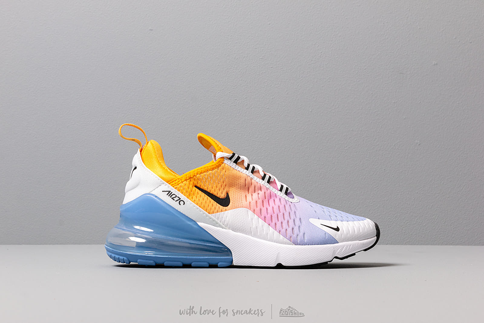 Nike W Air Max 270 University Gold Black University Blue
