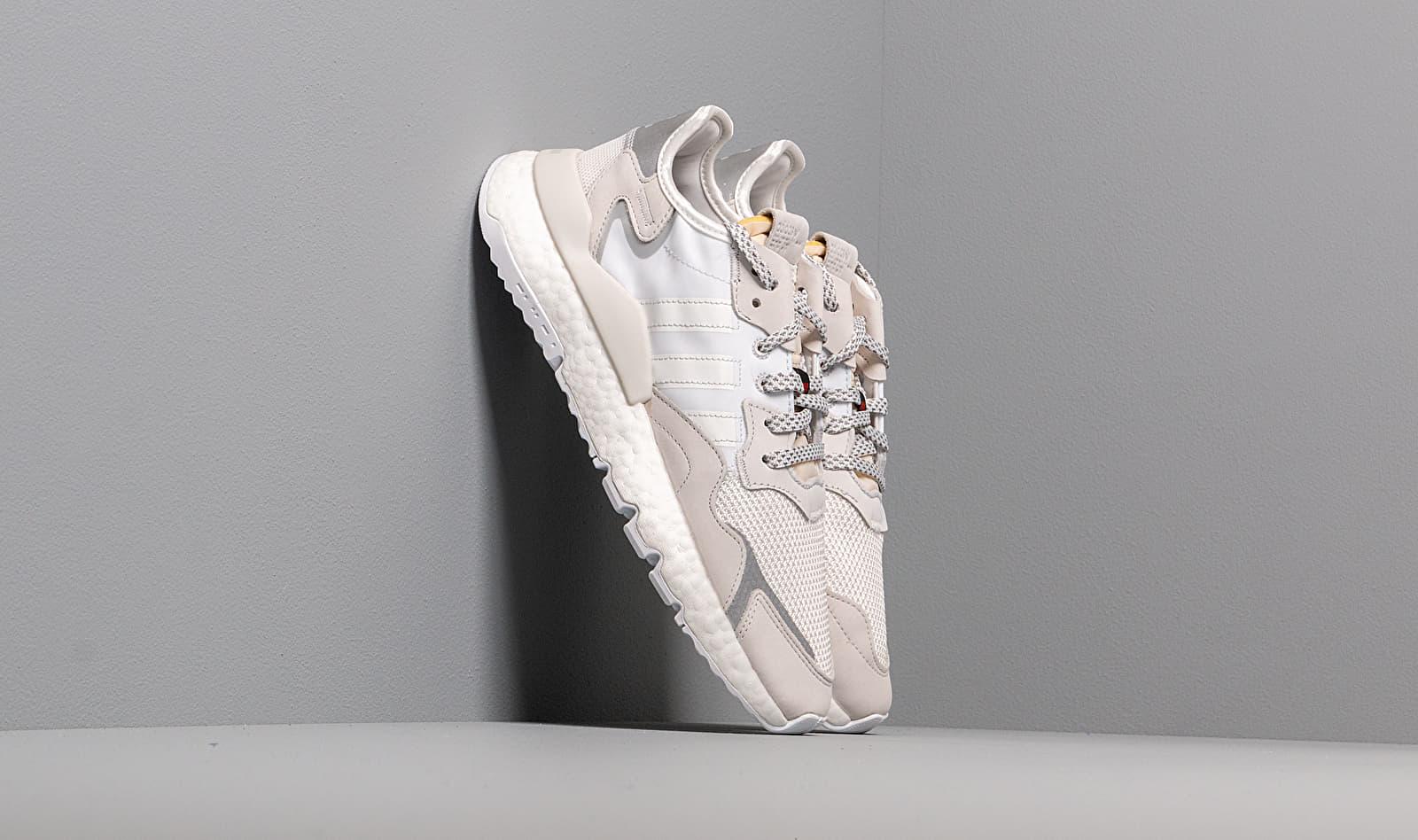 adidas Nite Jogger 3M Crystal White/ Crystal White/ Ftw White