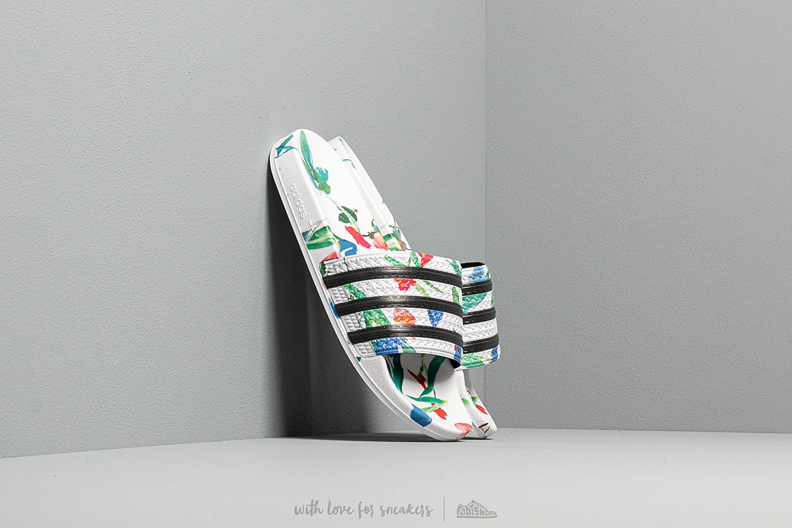 Women's shoes adidas Adilette W Ftw White/ Core Black/ Ftw White