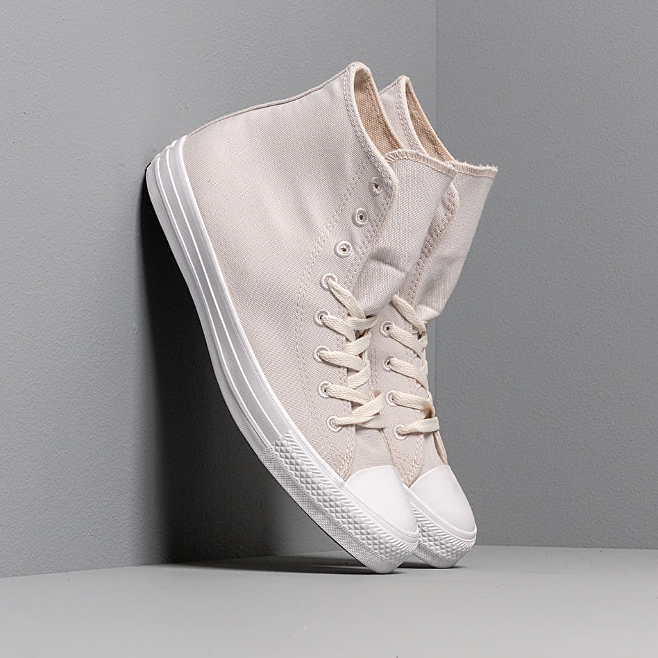 Converse Chuck Taylor All Star Hi Renew Canvas Pale Putty/ Black/ White EUR 39