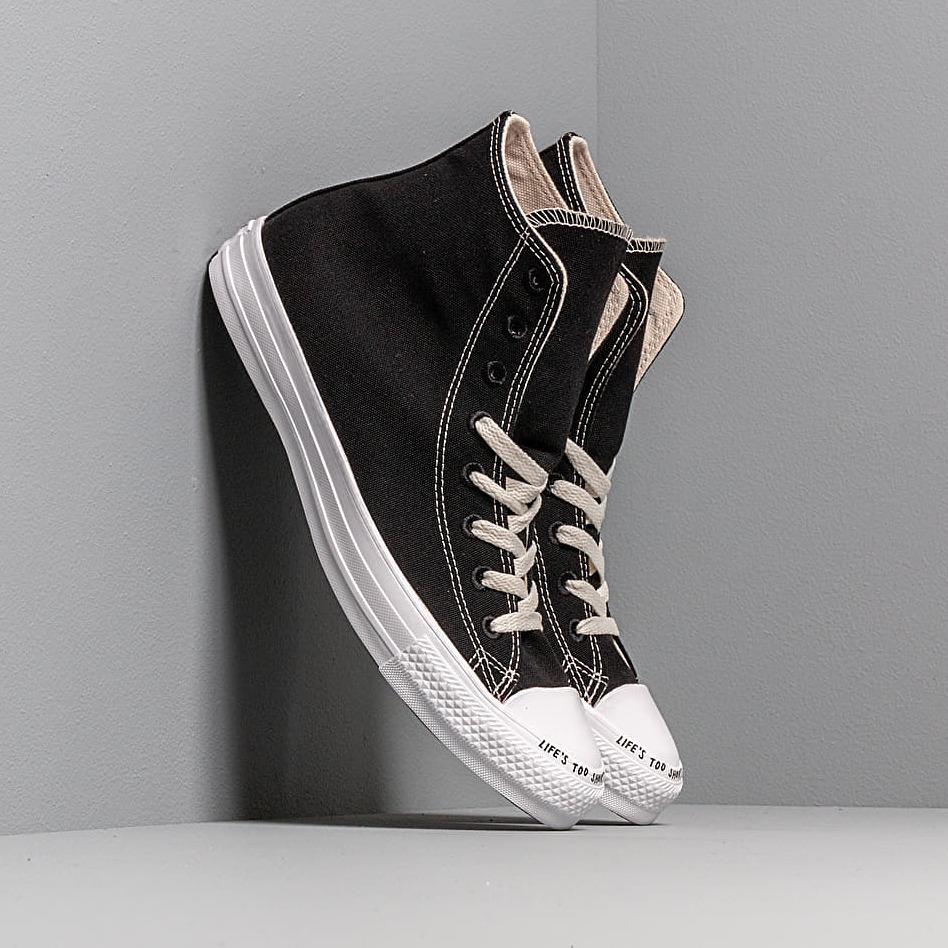 Converse Chuck Taylor All Star Hi Renew Canvas Black/ Black/ White EUR 44