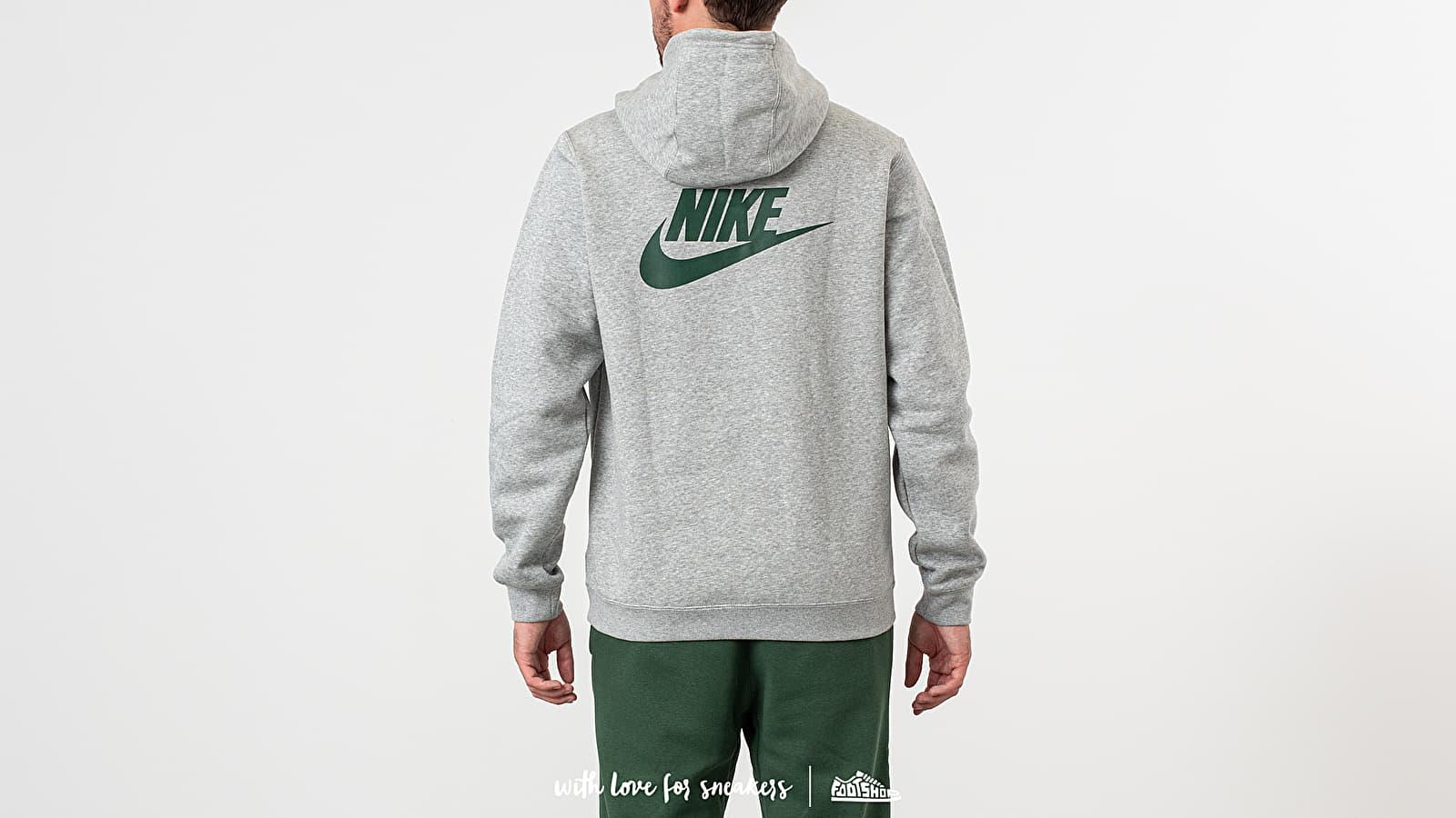 Nike x Stranger Things NRG Club Hoodie Dark Grey Heather
