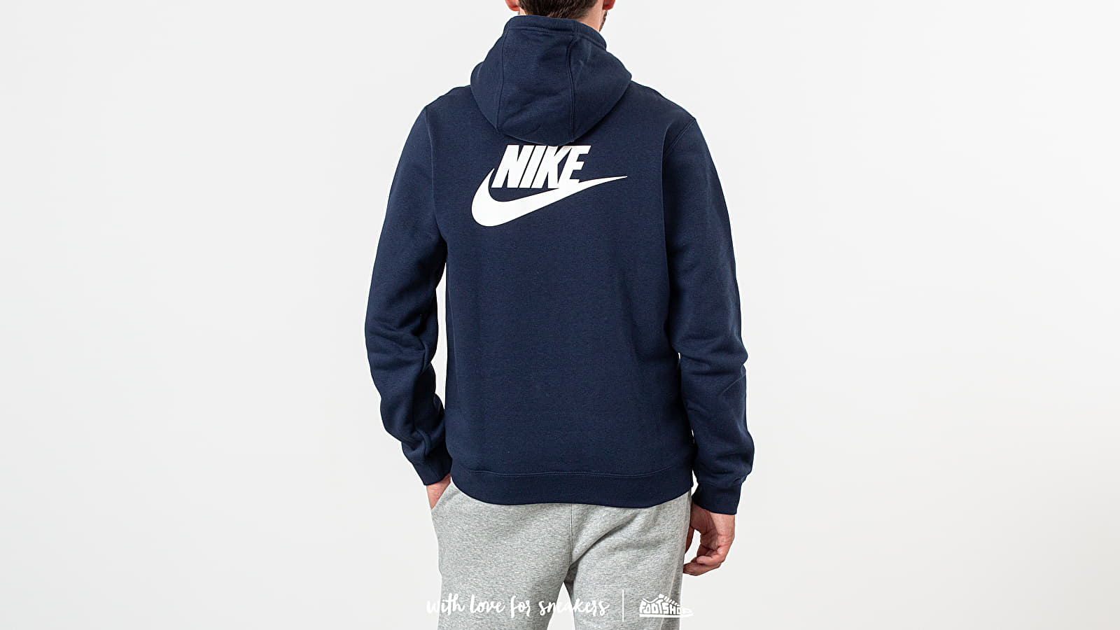 f5fc94457 Nike x Stranger Things NRG Club Hoodie College Navy/ White/ Sail at a great