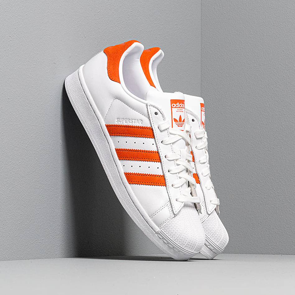 adidas Superstar Ftw White/ Orange/ Ftw White EUR 47 1/3