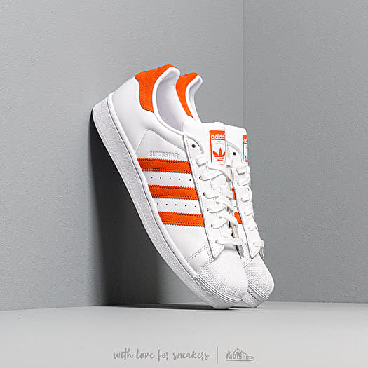 adidas Superstar Ftw White Orange Ftw White | Footshop