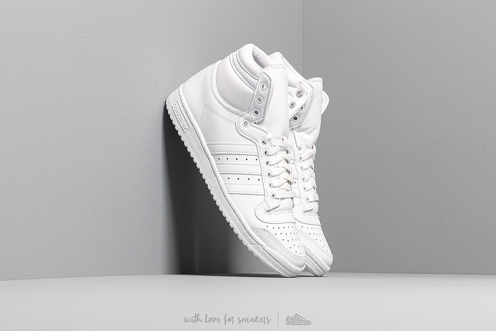 Pánské tenisky a boty adidas Top Ten Hi Ftw White/ Ftw White/ Ftw White