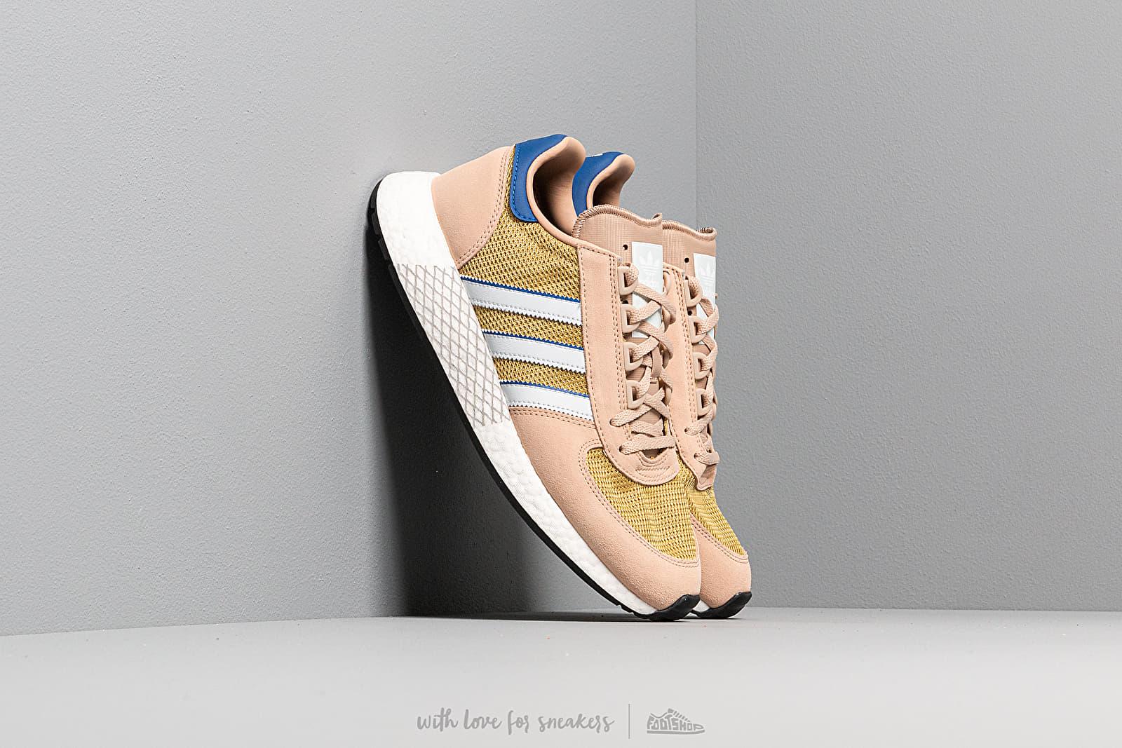Men's shoes adidas Marathon Tech St Pale Nude/ Blue Tint/ Core Royal