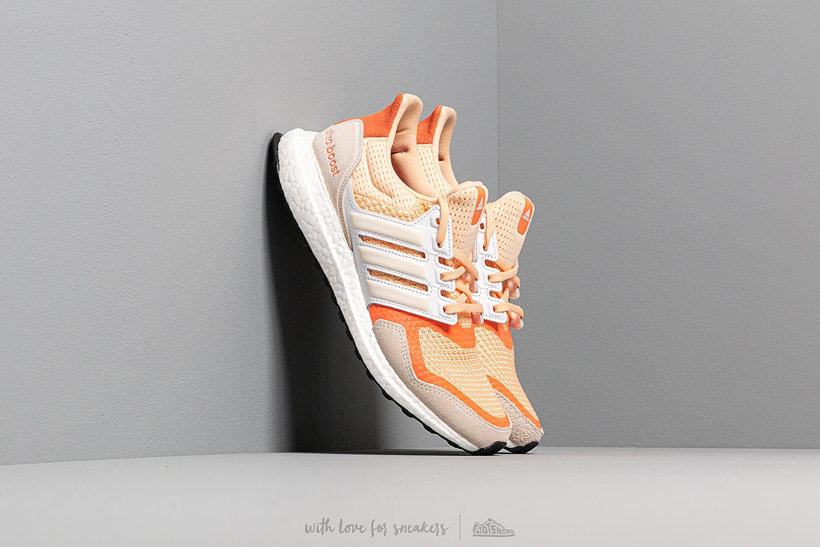 adidas UltraBOOST S&L W Glow Orange Off White Semi Core Orange | Footshop