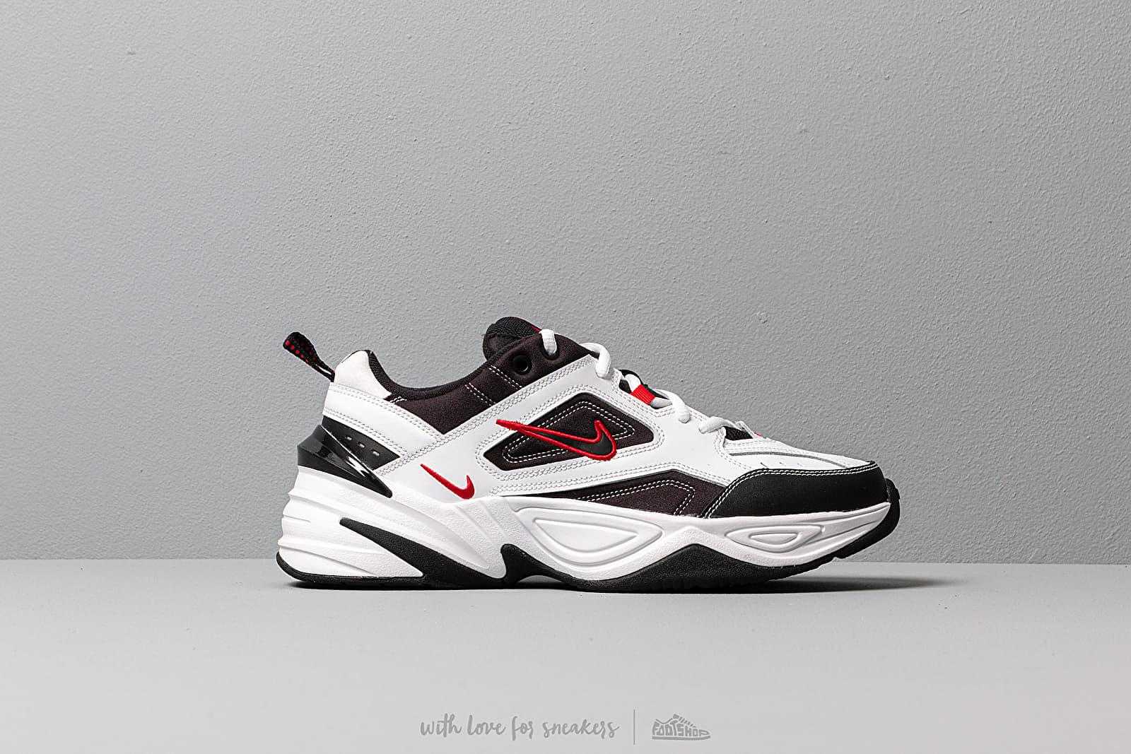 Men S Shoes Nike M2k Tekno White Black University Red