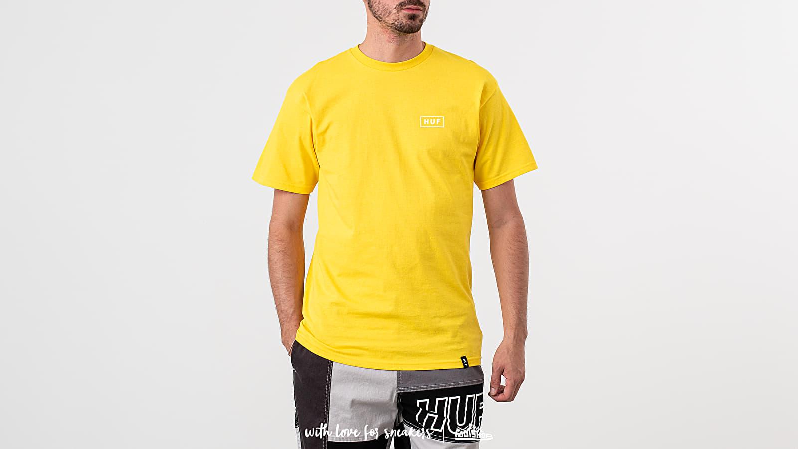 Pólók HUF Ice Cream Tee Yellow