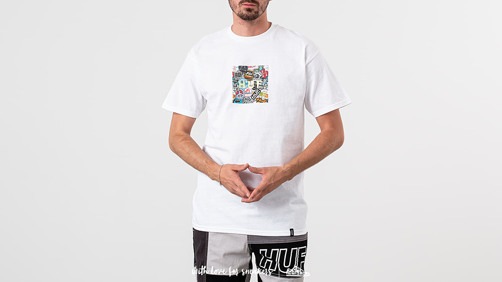 HUF Sticker Wars Box Logo Tee