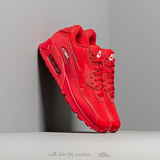 Interpretativo Acurrucarse venganza  Men's shoes Nike Air Max 90 Essential University Red/ White | Footshop