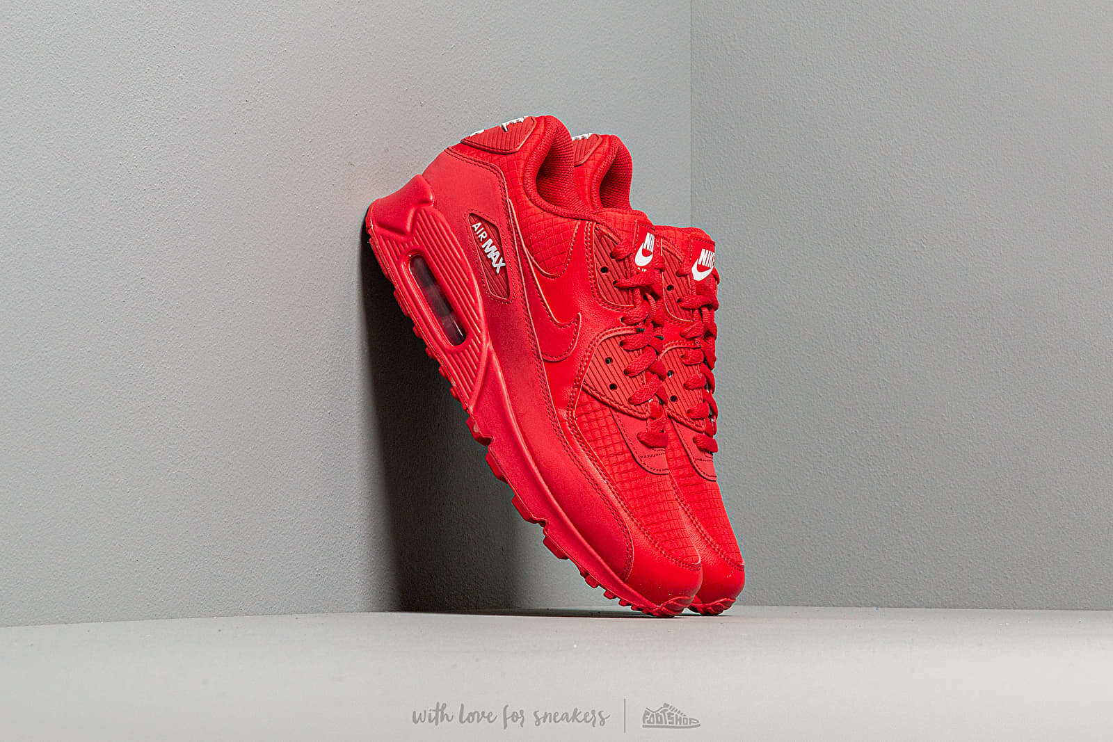Nike Air Max 90 Essential University Red White | Footshop