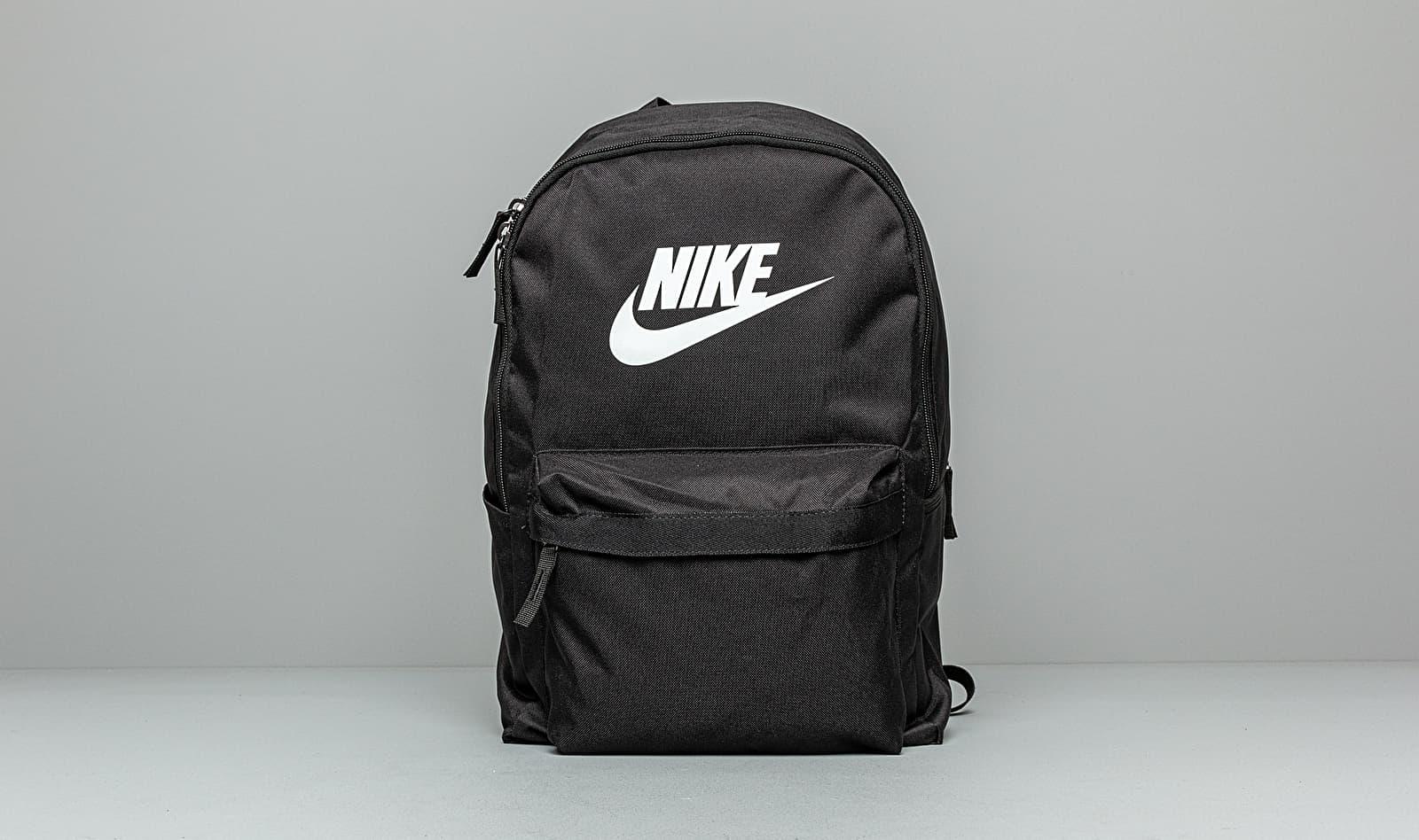 Nike Heritage Backpack Black/ Black/ White 25 litrov