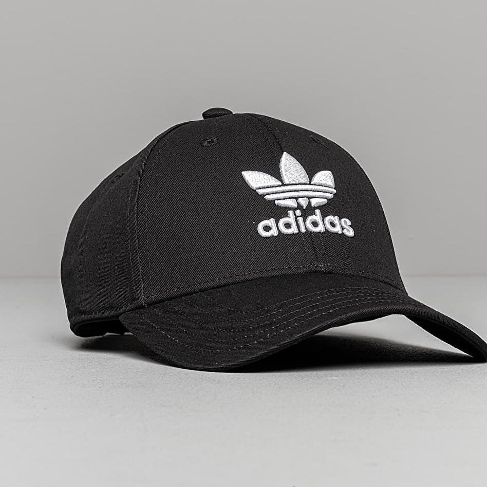 adidas Baseball Classic Trefoil Black/ White OSFM
