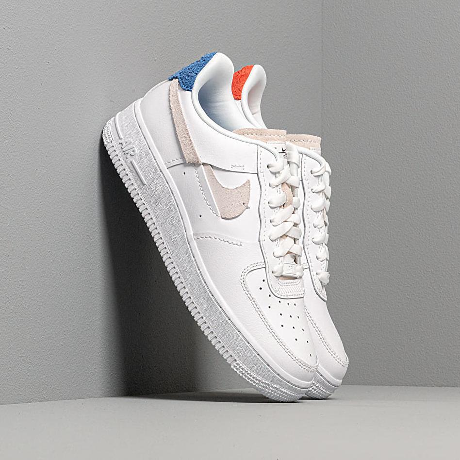 Nike Wmns Air Force 1 '07 LX White/ Platinum Tint-Game Royal EUR 39