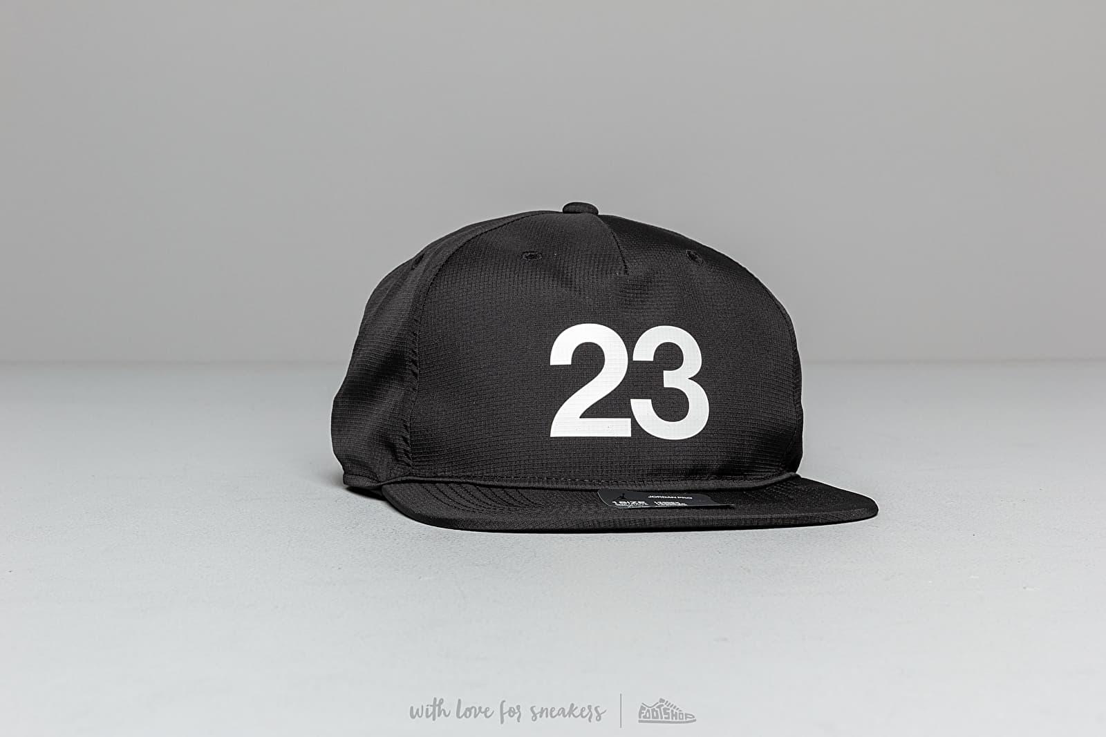 Jordan Pro3 Engineered Cap Black za skvelú cenu 31 € kúpite na Footshop.sk