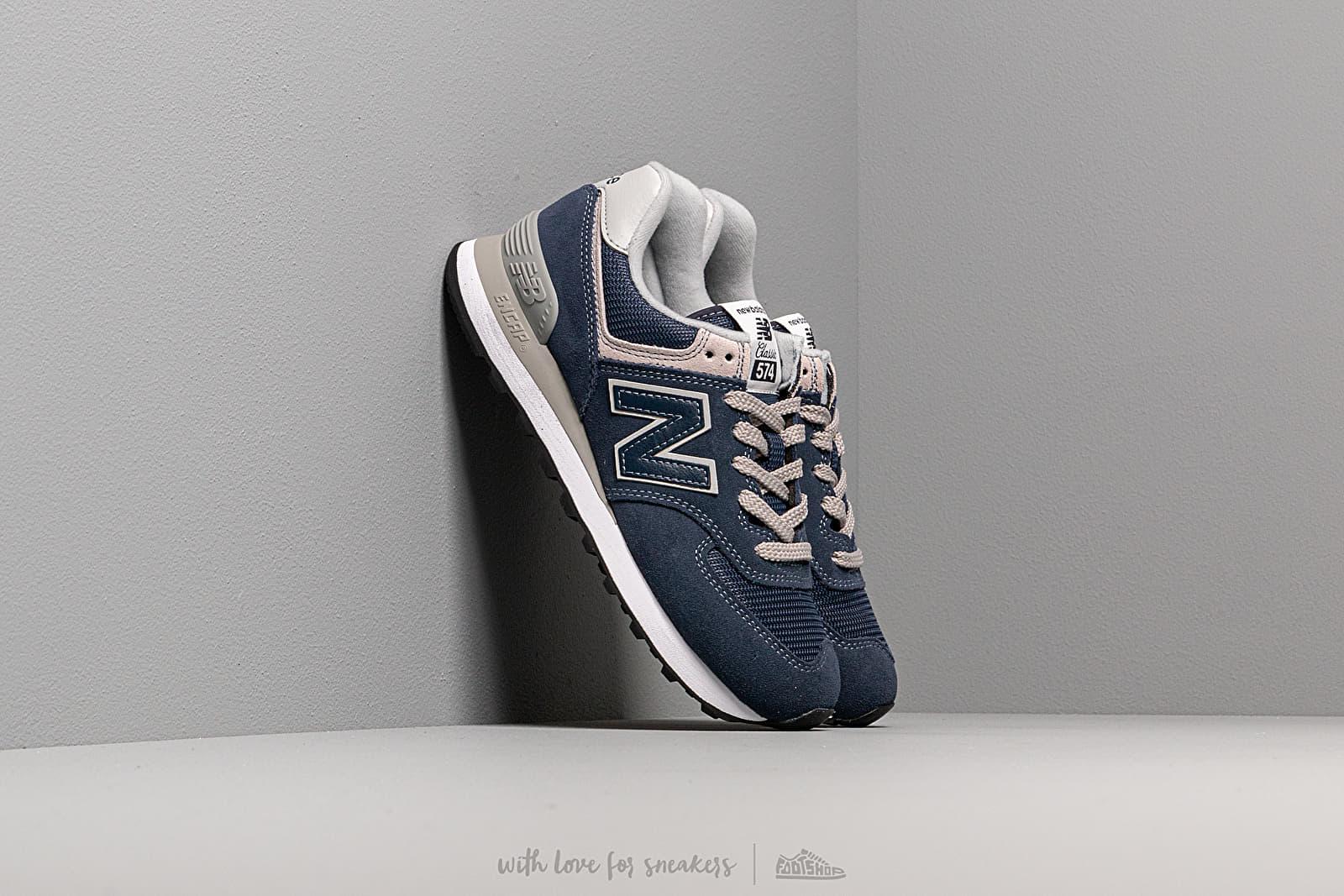 New Balance 574 Navy za skvelú cenu 92 € kúpite na Footshop.sk