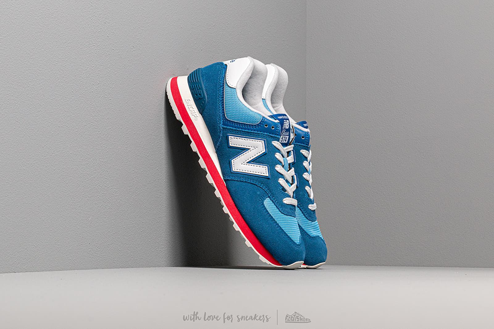 New Balance 574 Blue/ Blue za skvelú cenu 92 € kúpite na Footshop.sk