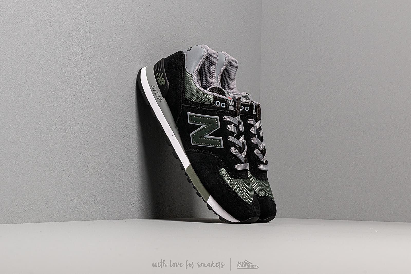 New Balance 574 Black/ Green za skvelú cenu 92 € kúpite na Footshop.sk