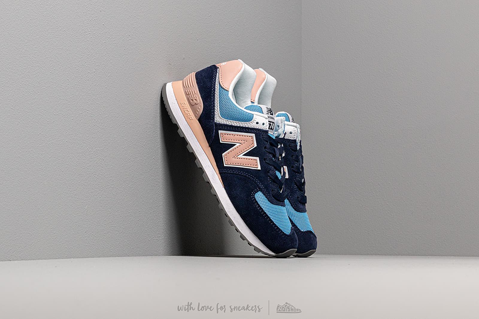 New Balance 574 Blue/ Pink za skvelú cenu 92 € kúpite na Footshop.sk