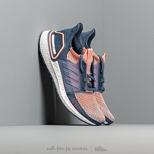 Women S Shoes Adidas Ultraboost 19 W Glow Pink Tech Ink Solar Orange Footshop