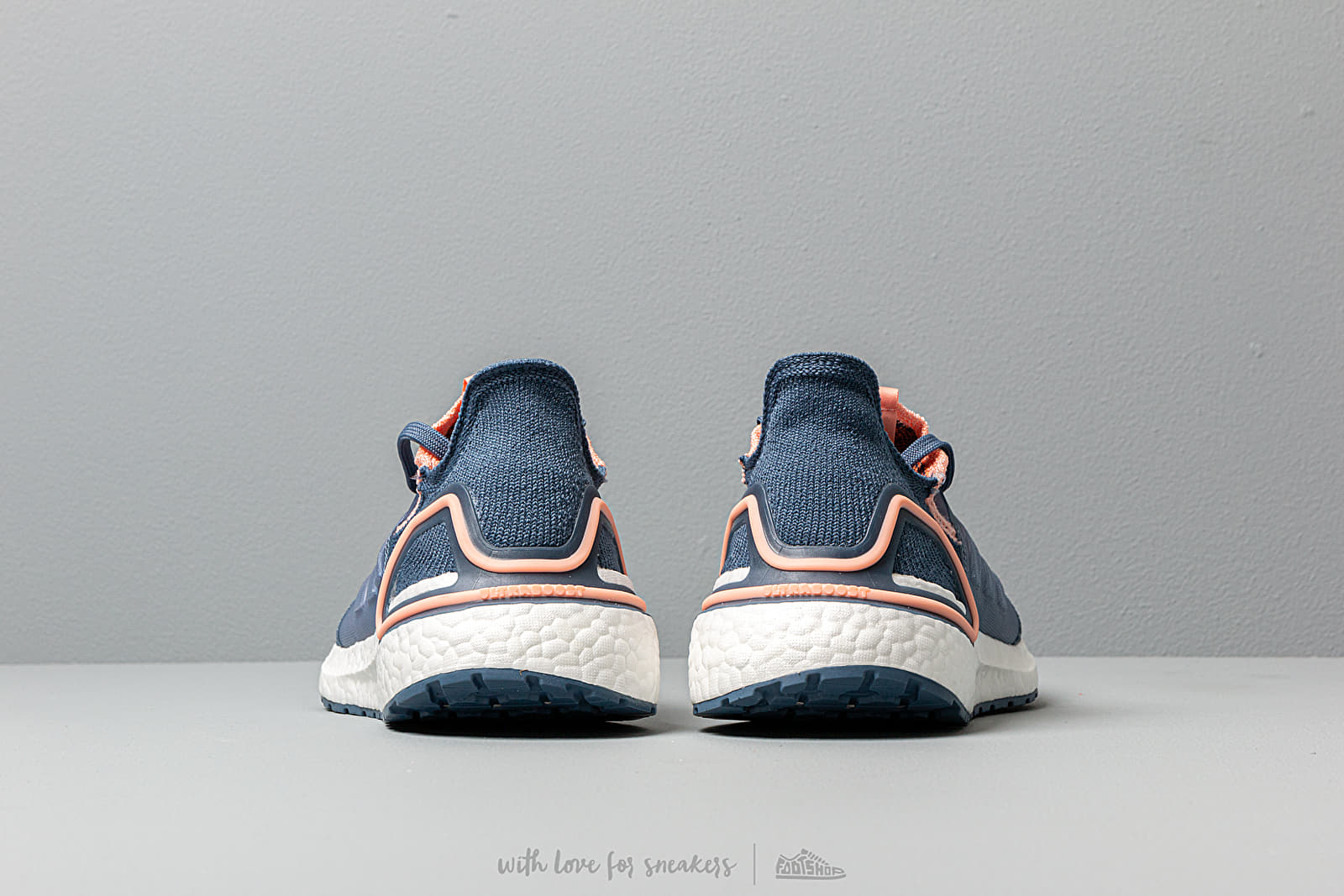 adidas Ultraboost 19 Laufschuhe Damen glow pink tech ink solar orange