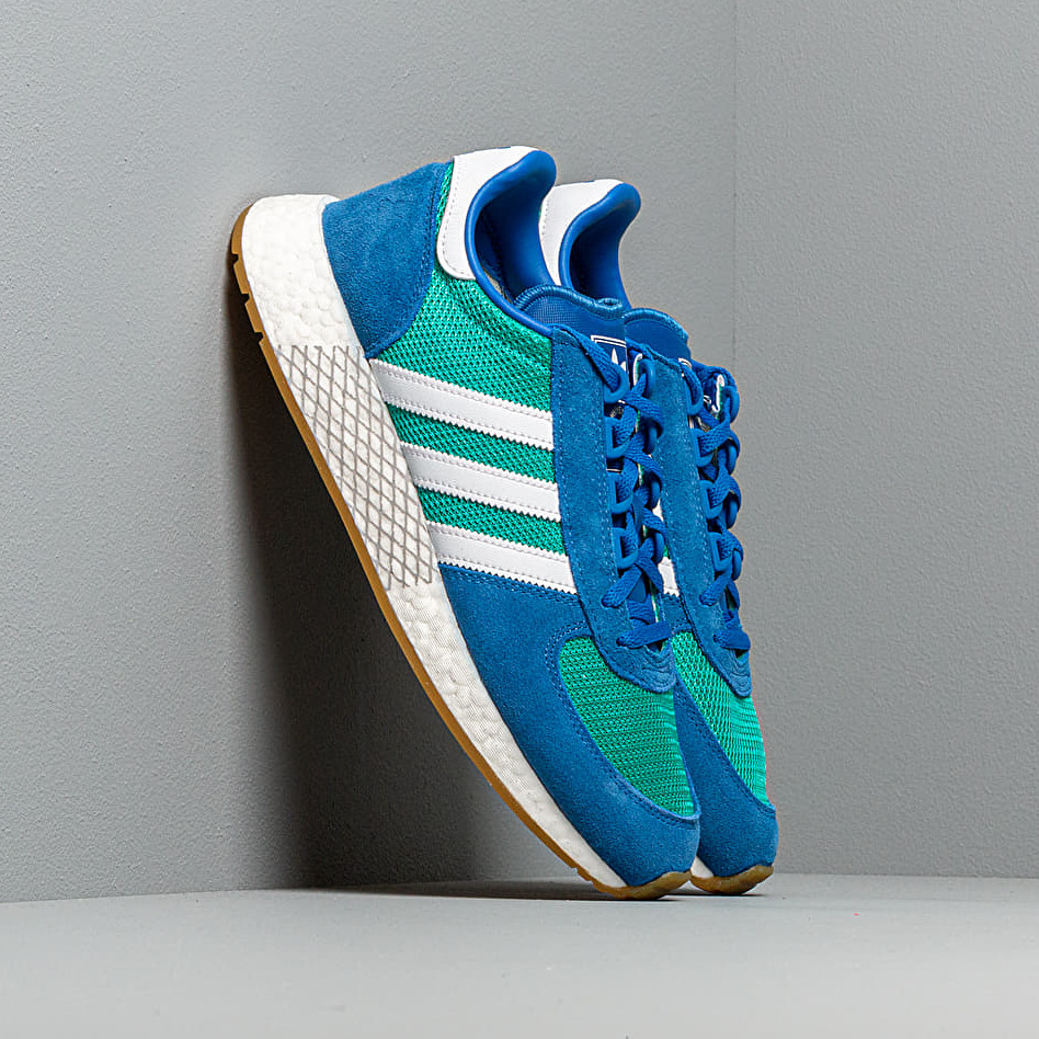adidas Marathon Tech Hi-Res Aqua/ Ftw White/ Blue