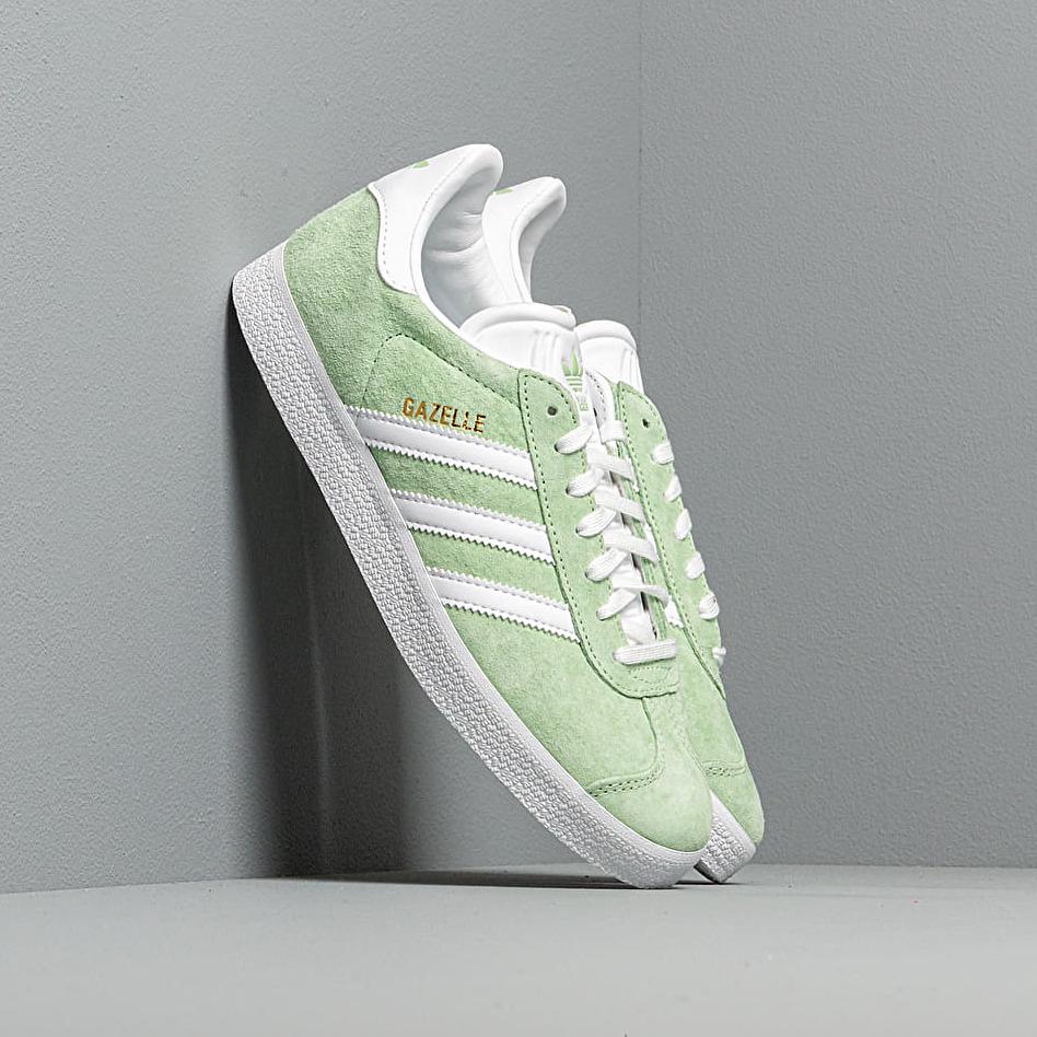 adidas Gazelle W Glow Green/ Ftw White/ Gold Metalic EUR 39 1/3