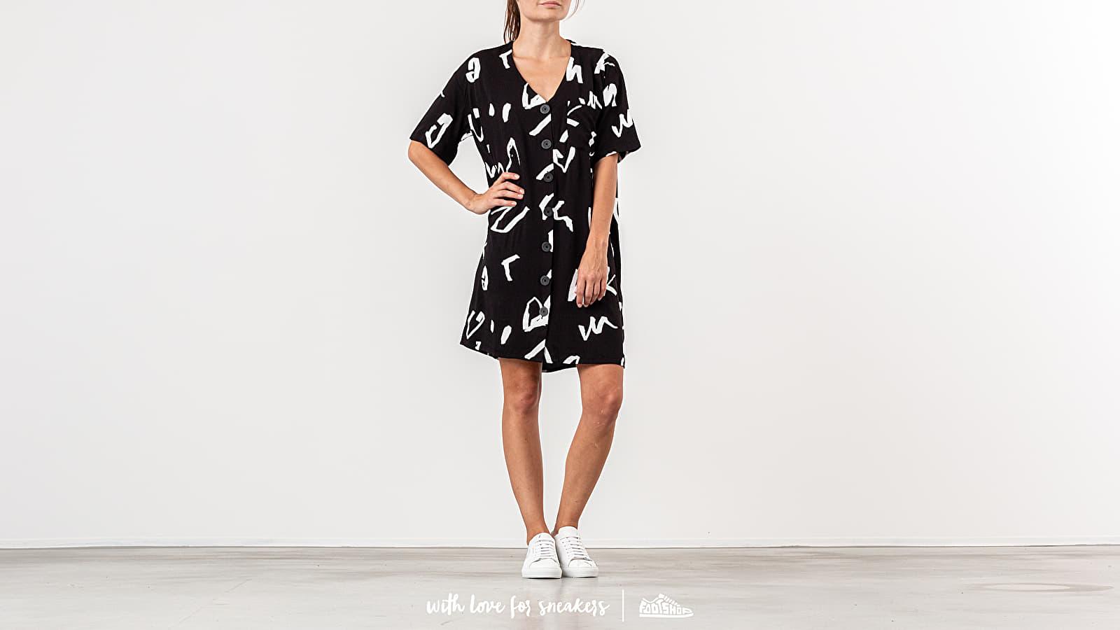 Lazy Oaf G.E.M. Scribble Dress