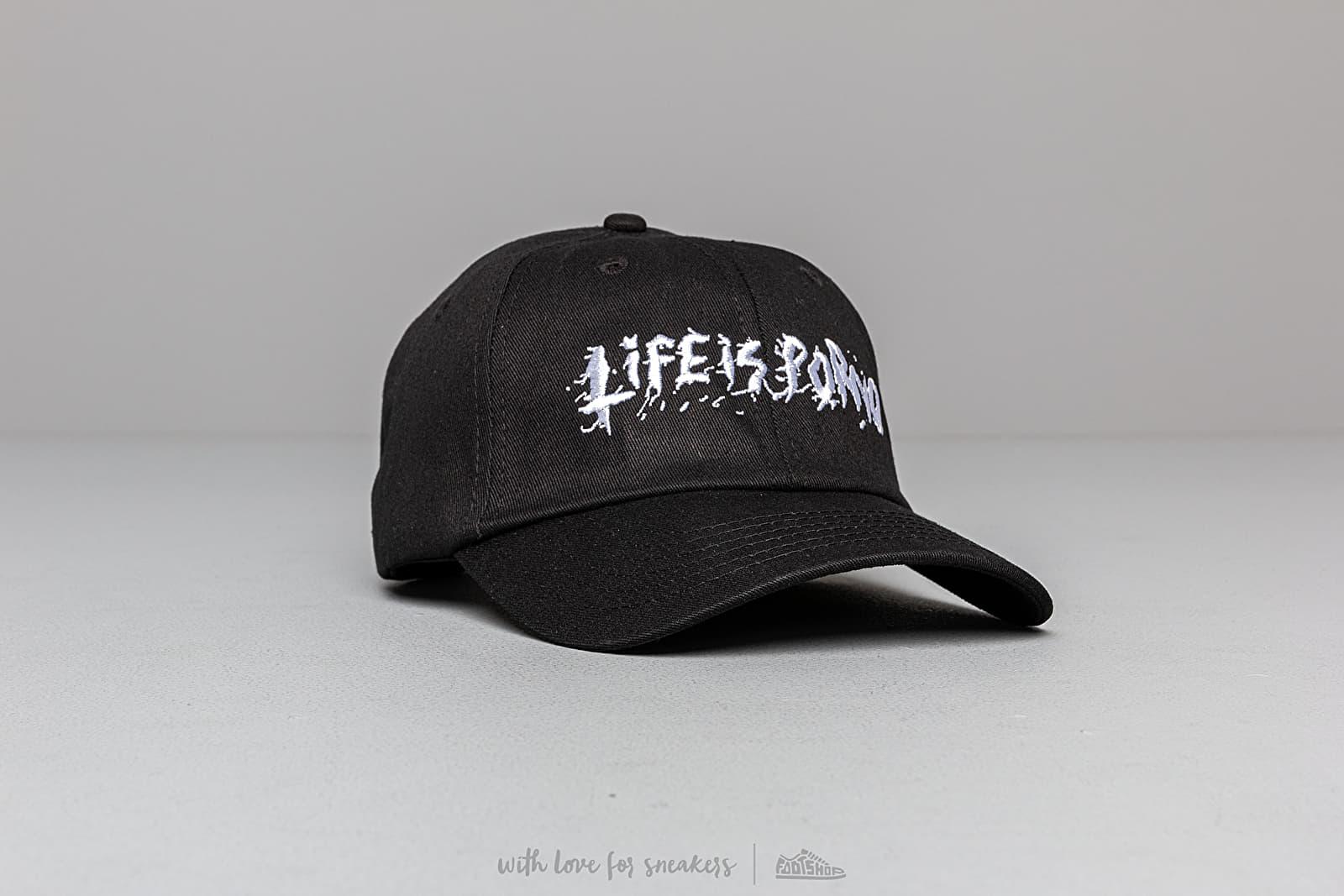 LIFE IS PORNO D(e)AD Line Cap