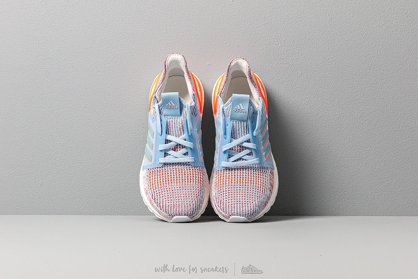 adidas UltraBOOST 19 W Glow Blue Hi Res Coral Active Maroon   Footshop