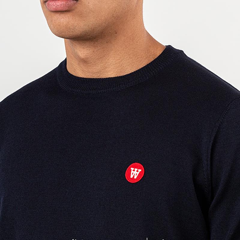 WOOD WOOD Kip Sweatshirt Navy, Blue